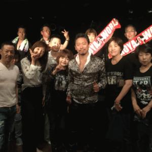 2017.6.11.和歌山オールドタイムでライブ終了後に